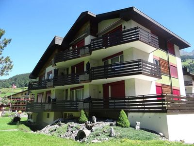Photo for Lovely apartment for 4 guests with WIFI, TV, balcony and parking