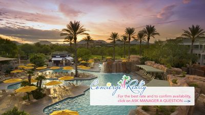 Photo for Luxury accommodations at Marriott Canyon Villas! 2 bed/2 bath Villa. Best rates!