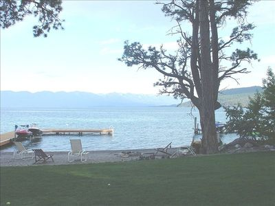 Photo for 4th of JULY WEEK IS OPEN!  GREAT VIEWS & FUN! 100 ft flat lakefront property