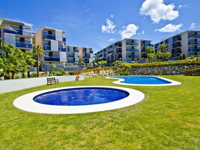Photo for MODERN APARTMENT NEAR PORT AVENTURA IN SALOU S206-128 PARADIS VILLAGE