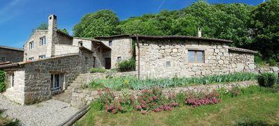 Photo for Large stone cottage 12 people in the heart of Ardeche