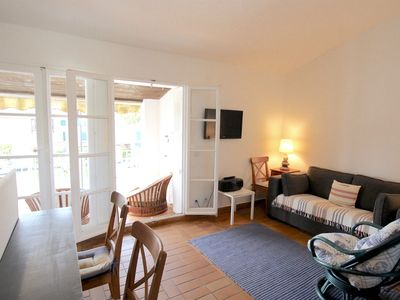 Photo for 2-room apartment with a wide balcony in Port Grimaud South