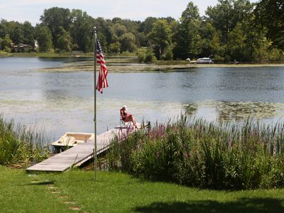 Photo for Private room in a lake front house with a  Queen size bed. Great for 1-2 people