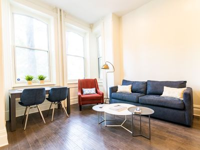 Photo for 1br in Historic DuPont Circle Walkup - (Parking available!)