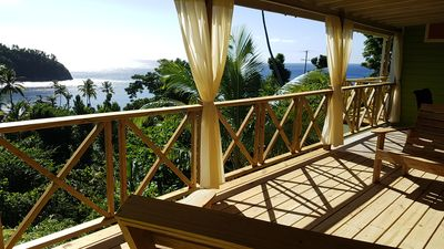 Photo for Gorgeous timber cottage, Large garden, Short walk to the beach, Ocean view