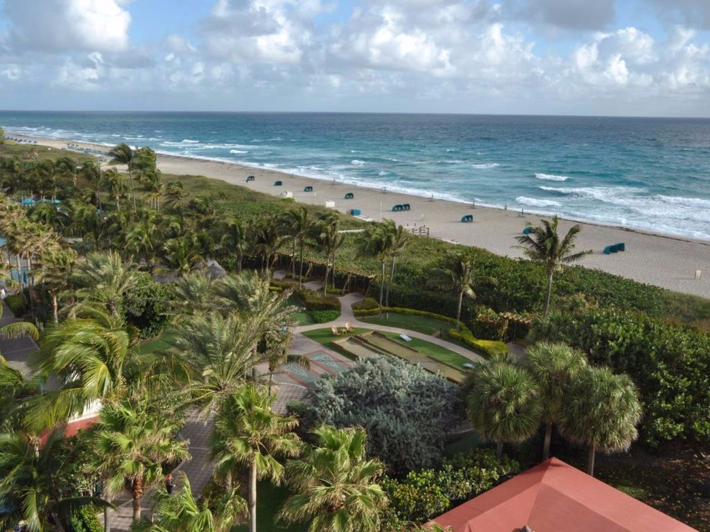 exact view may vary but you are guaranteed one of the few oceanfront villas. oceanfront bedroom at marriott ocean poin  vrbo