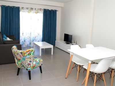Photo for Charming Paradise Sol da Rocha apartment with sea view balcony