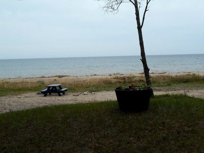 Photo for Scenic Lake front cottage! Summer in Door County too good to miss!