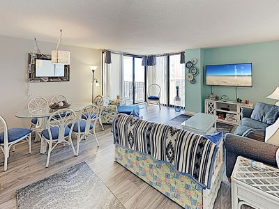Photo for New Listing! Choice Oceanfront Retreat w/ Pools, Hot Tub & Spacious Balcony