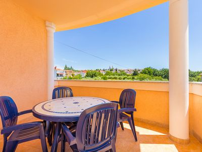 Photo for Beautiful accommodation with bedroom, bathroom, kitchen, air conditioning, wireless internet, pets are allowed - only 800 meters to the sandy beach