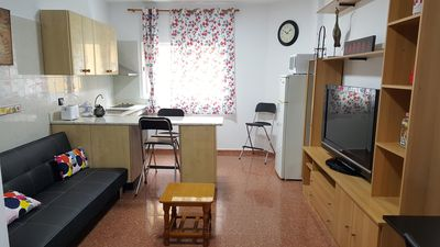 Photo for 1BR Apartment Vacation Rental in Vecindario, CN