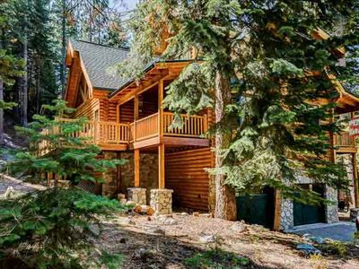 Photo for A True Tahoe Log Home-Surrounded By Forest