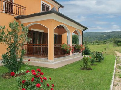 Photo for 6 bedroom Villa, sleeps 13 in Pićan with Pool, Air Con and WiFi