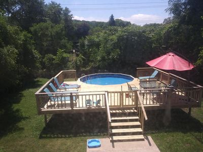 Photo for Blue Butterfly II - Pool open late May thur Oct. 7, 1.5 blocks to Beach