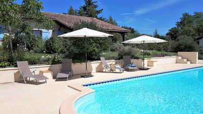 Photo for New! Beautiful gite within walking distance of Monflanquin