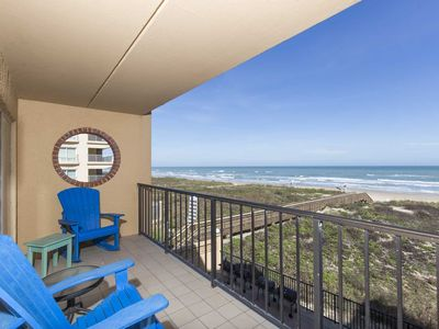 Photo for Suntide II 301 - Oceanfront Condo, BBQ's, Sand Volleyball, Sun Deck, Beachfront Pool & Spa