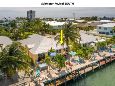 Photo for Saltwater Revival 🌊 Canal Front, In Key Colony Beach with Cabana Club Access