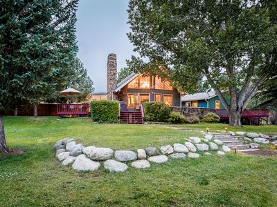 Photo for Private River Access, Hot Tub, Deck/Grill, Detached Guesthouse, Chiminea, Wifi
