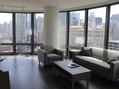 Photo for Heart Of Chicago 2 Bed / 2 Bath Apartment! All Building Amenities Included!