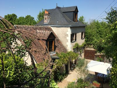 Photo for Charming Wine Makers Cottage . Amboise , Loire Valley , AC & 2019 SWIMMING POOL!