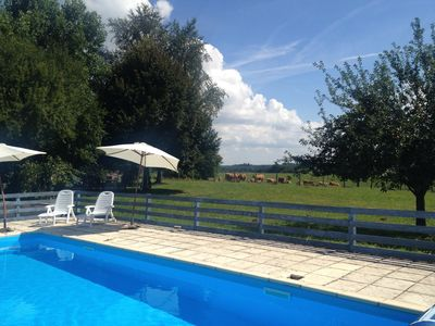 Photo for Farm House Cottages With Pool In Small Dordogne Hamlet