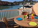The deck in the afternoon