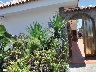 Photo for Charming  house with mature gardens & self contained roof studio with sea views