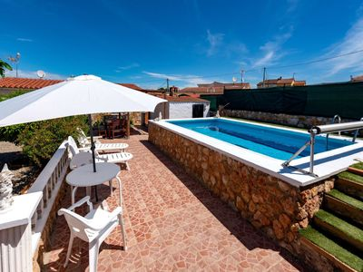 Photo for Vacation home Peace in Santa Oliva - 6 persons, 3 bedrooms
