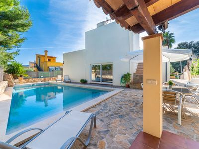 Photo for es Morer Vermell Holiday Home, Sleeps 6 with Pool, Air Con and Free WiFi