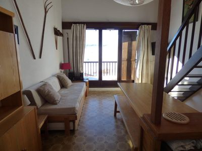 Photo for 3 rooms +  cabin + mezzanine center of resort