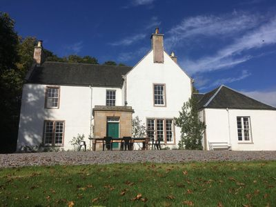 Photo for Kingillie House, built in the eighteenth century, lovely highland views