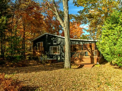 Photo for A Muskoka Beauty - 1,800sqf cottage with bunkie & dry boathouse on 1.5 acres
