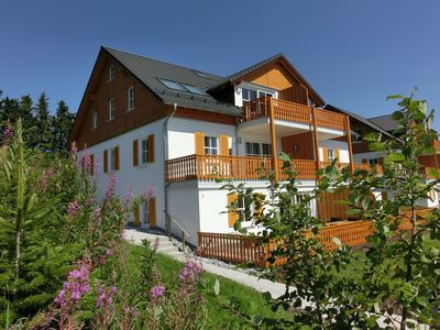 Photo for Apartment near Winterberg with terrace, garden, quiet location and a lovely view
