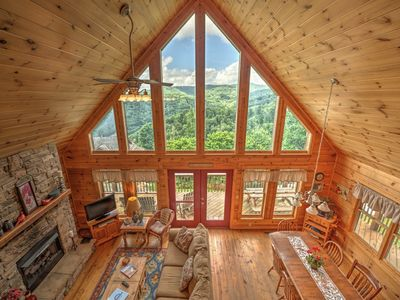 Photo for Dream Catcher - At the top of the world with mountain views, hot tub, game table, and more! Includes a Biltmore Pass!