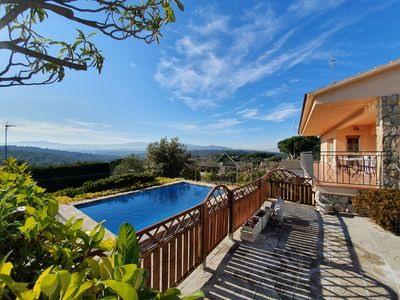 Photo for Rustic villa with pool 15 minutes from the beach of Blanes