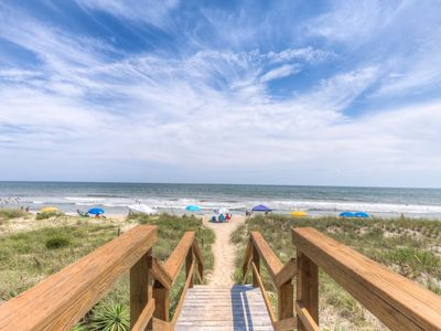 Photo for Oceanfront with pool access, Sea Colony 22B has everything you need to make great memories!