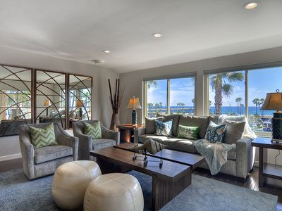 Photo for BOARDWALK BEAUTY OCEANFRONT Top Floor LUXURY Condo in the Balboa Village