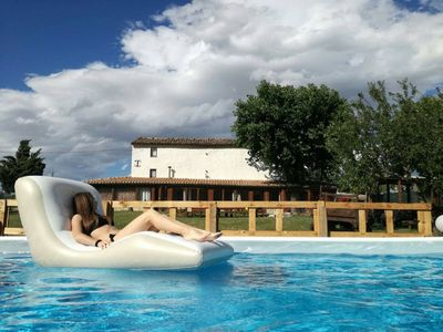 Photo for Casale Viozzi - Farmhouse with pool in Montefalcone Appennino