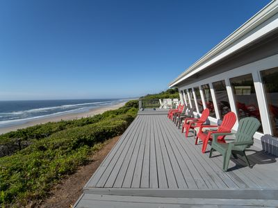 Photo for Panoramic  Vacation Paradise - Ocean Front Luxury Retreat - Great for Families