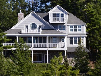 Photo for Large Custom Home with Lake View and Beach Access