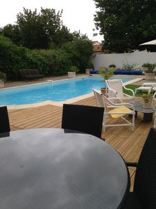 Photo for HOUSE with pool garden terrace overlooking