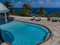 Breathtaking views from the house that you can never tire of and loved St Lucia