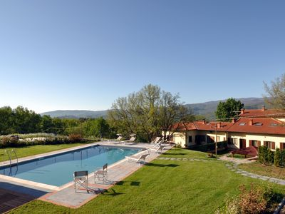 Photo for VILLA CASENTINO: Luxurious villa with private pool set in the countryside
