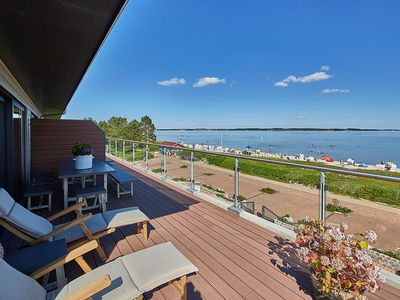 Photo for Penthouse Suite Deluxe - Sea Air - Sea View - Baltic Sea Beach House Holnis
