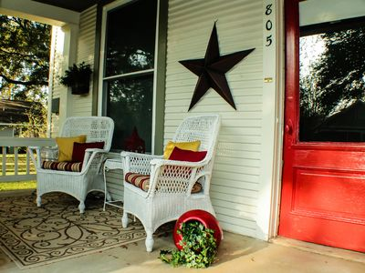 Smithville Cottage front porch