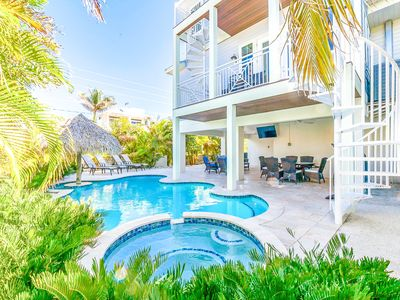 Photo for Turtle Cove:Awesome,Huge,Heated Pool & Hot Tub,Views of Gulf,4 Houses to Beach