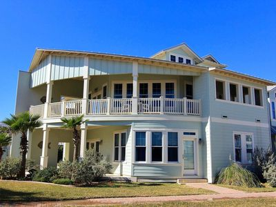 Photo for Stunning beach home with wrap around porch, across from beach boardwalk