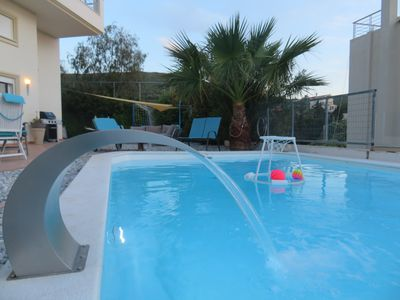 Photo for Villa Thimari Sports & Spa with private pool and jacuzzi
