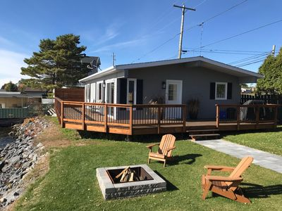 Photo for Waterfront home with amazing views of St Lawrence