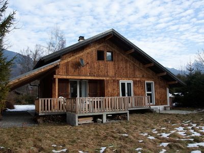 Photo for Chalet Les Marmottes With Mountain Views. Morillon - Haute Savoie - French Alps